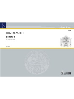 Paul Hindemith: Sonata No.1 Books | Organ