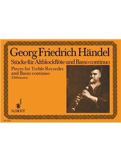 Handel; Aylesford Pieces for Treble Recorder and Continuo Books | Continuo, Alto (Treble) Recorder