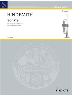Paul Hindemith: Trumpet Sonata Books   Trumpet, Piano Accompaniment