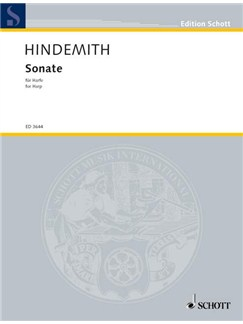 Paul Hindemith: Sonata In C (1939) Books | Harp