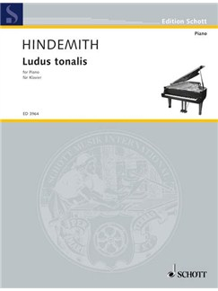 Paul Hindemith: Ludus Tonalis Books | Piano