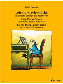 Easy Piano Pieces From Bachs Sons To Beethoven Books | Piano