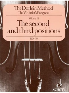 The Violinist's Progress Volume III - The Second And Third Positions Books | Violin