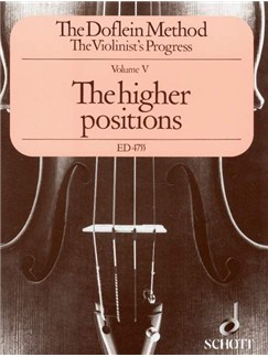 Method Book 5 - Higher Positions Books | Violin