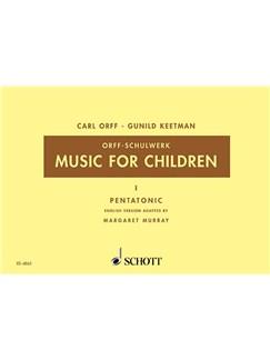 Music For Children Bk 1 Pentatonic Ed Murray Books |
