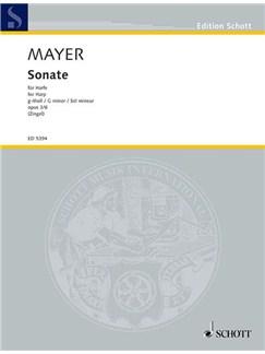 P.J Mayer: Sonata In G Minor Op.3 No.6 Books | Harp