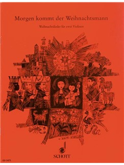 Willi Draths: Morgen Kommt Der Weihnachtsmann Buch   Violine (Duett)