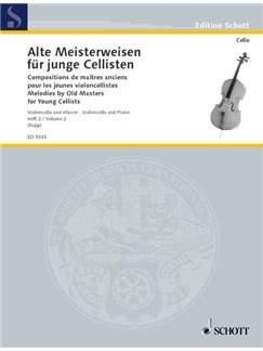 Alte Meisterweisen Fur Junge Cellisten - Volume Two Books | Cello, Piano Accompaniment