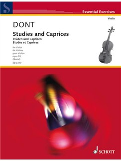 Etudes And Caprices 24 Op 35 Ed Rostal Books | Violin