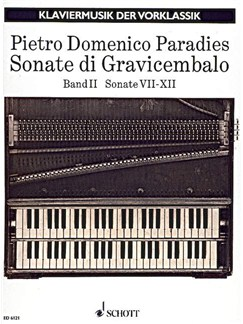 Paradies: Sonatas For Harpsichord, Sonatas 7-12 Books | Piano, Harpsichord