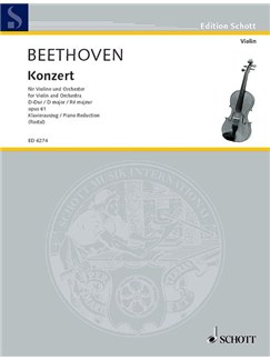 Beethoven: Violin Concerto In D (Violin and Piano) Books | Violin, Piano Accompaniment