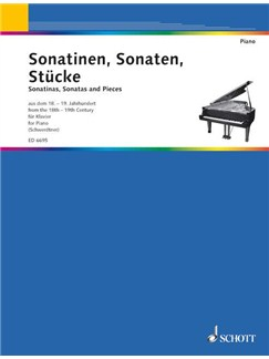 Sonatinen Sonaten Und Stucke Books | Piano
