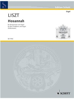 Franz Liszt: Hosannah (Bass Trombone/Organ) Books | Bass Trombone, Organ Accompaniment