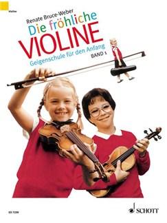 Renate Bruce Weber: Die Fröhliche Violine (Band 1) Books | Violin