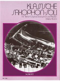 Classical Solos For Tenor Saxophone Books | Tenor Saxophone (or Soprano Sax), Piano Accompaniment