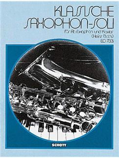 Classical Pieces Alto Saxophone Books | Alto Saxophone, Piano Accompaniment