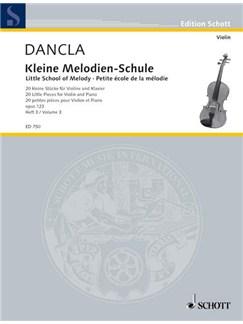 Charles Dancla: Little School Of Melody Books | Violin, Piano Accompaniment