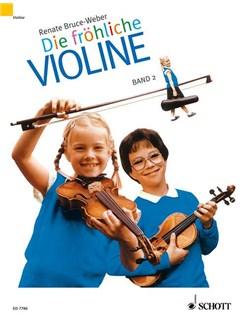 Renate Bruce Weber: Die Fröhliche Violine (Band 2) Books   Violin