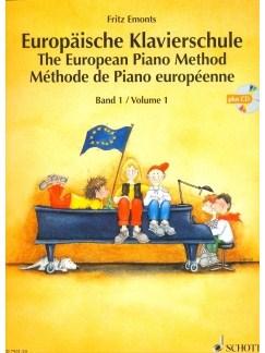 Emonts: Europäische Klavierschule (The European Piano Method) Vol.1 mit CD Books and CDs | Piano