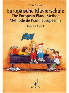 Emonts: Europäische Klavierschule (The European Piano Method) Vol.1 Books | Piano