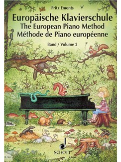 Emonts: Europäische Klavierschule (The European Piano Method) Vol.2 Books | Piano