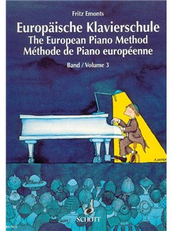 Emonts: Europäische Klavierschule (The European Piano Method) Vol.3 Books | Piano
