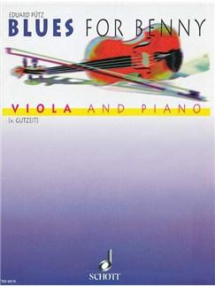 Eduard Putz: Blues For Benni Books | Viola, Piano Accompaniment