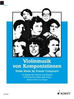 Female Composers - 13 Pieces For Violin And Piano Books | Violin, Piano Accompaniment