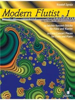 Krystof Zgraja: Modern Flutist Book One Books | Flute, Piano Accompaniment