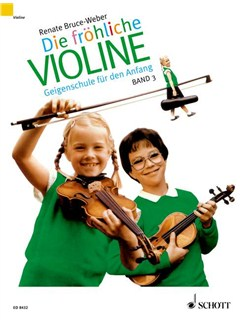 Renate Bruce Weber: Die Fröhliche Violine (Band 3) Books | Violin