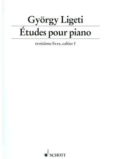 Gyorgy Ligeti: Etudes Pour Piano Book 3 Books | Piano