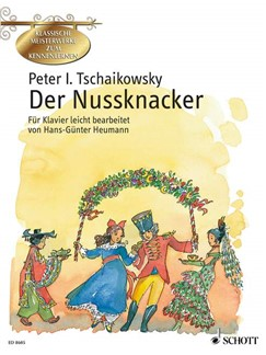 Peter Iljitsch Tschaikowsky: Der Nussknacker Books | Piano