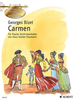 Georges Bizet: Carmen Books | Piano