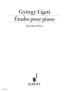 Gyorgy Ligeti: Etudes Pour Piano Book 2 Books | Piano