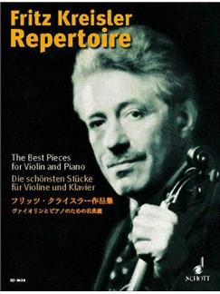 Fritz Kreisler: Repertoire For Violin Books | Violin, Piano Accompaniment