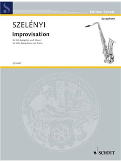 Istvan Szelenyi: Improvisation Books | Alto Saxophone, Piano Accompaniment