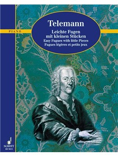Georg Philipp Telemann: Easy Fugues With Little Pieces Books | Piano