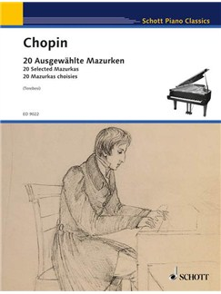 Frédéric Chopin: 20 Ausgewählte Mazurken Books   Piano