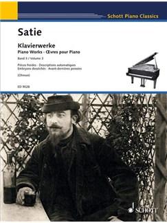 Erik Satie: Satie Piano Works Vol.3 (Peters Edition) Books | Piano