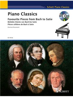 Piano Classics: Favourite Pieces From Bach To Satie Books and CDs | Piano