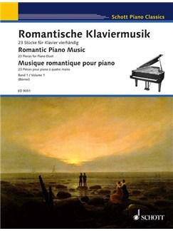 Romantische Klaviermusik (Band 1) Books | Piano Duet