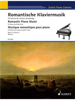 Romantic Piano Music 2 - 23 Pieces for Piano Duet Books | Piano Duet
