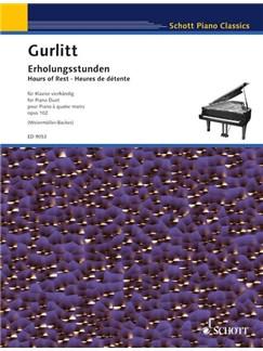 Cornelius Gurlitt: Erholungsstunden Books | Piano Duet