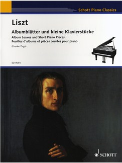 Franz Liszt: Album Leaves And Short Piano Pieces Books | Piano