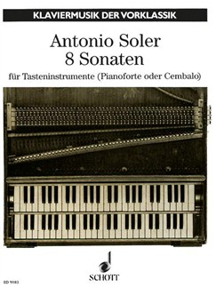Padre Antonio Soler: Eight Sonatas Books | Piano or Harpsichord