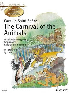 Carnival Of The Animals Arr Heumann Easy Pno Books | Piano