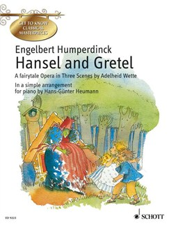 Adelheid Wette: Hansel And Gretel (Easy Piano) Books | Piano
