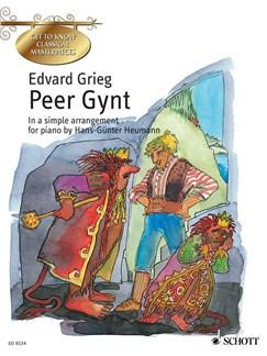 Peer Gynt Arr Heumann Easy Piano English Edition Books | Piano