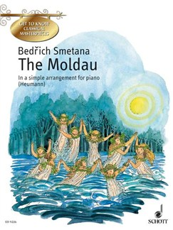 Moldau Easy Piano Ed Heumann English Edition Books | Piano