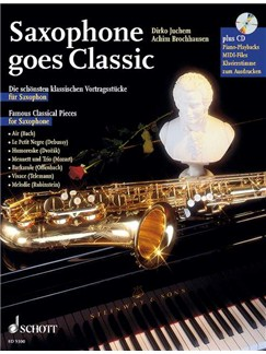 Saxophone Goes Classic Bk/Cd Books | Saxophone